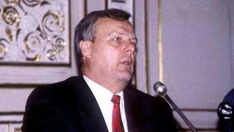 Anatoly Sobchak foi prefeito de São Petersburgo entre 1991 e 1996