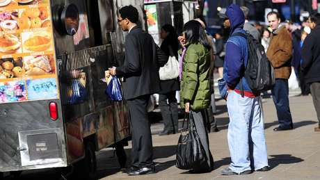 Em cidades como Nova York, não faltam opções. Mas, sim, tempo | Foto: AFP