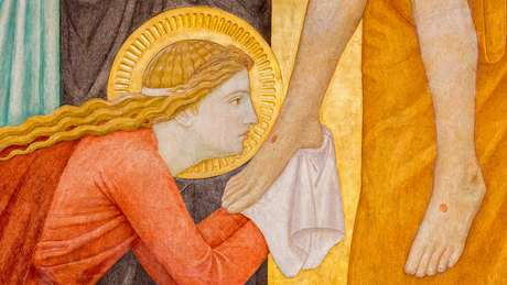 Pintura exposta em altar de Igreja em Viena, Áustria; para muitos pesquisadores, machismo explica o retrato de Maria Madalena ao longo da história