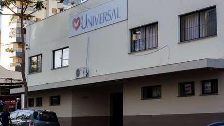 Templo da Igreja Universal na cidade de Carla Dalvitt; ela diz ter doado tudo em um evento chamado 'Fogueira Santa' | Foto: Jonas Samuel Betti/BBC Brasil