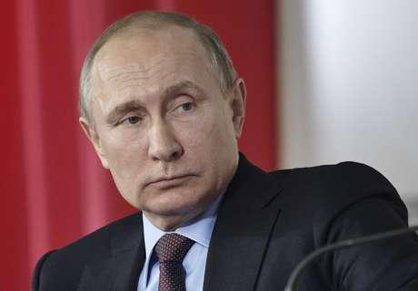 Presidente russo, Vladimir Putin, durante evento em Krasnodar, na Rússia 12/03/2018. Sputnik/Alexei Nikolskyi/Kremlin via REUTERS