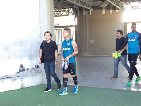Valencia marcou o primeiro gol pelo Alvinegro nesta temporada, e busca mais (Foto: Reprodução)
