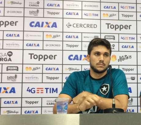 Igor Rabello está mais do que consolidado na equipe de General Severiano (Reprodução Twitter)