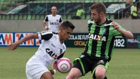 Aylon já tem seis gols marcados no campeonato mineiro com a camisa do Coelho (Alessandra Torres/Photo Premium)
