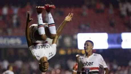 Último confronto: São Paulo 2 x 0 CRB-AL (28/2/2018) - Copa do Brasil