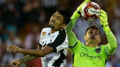 Kieza tem três gols desde que chegou ao Alvinegro. O time precisa muito dele (Vitor Silva/SSPress/Botafogo)