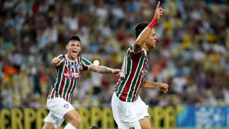 Fluminense venceu o Nova Iguaçu na Taça Rio (Foto: LUCAS MERÇON / FLUMINENSE F.C.)