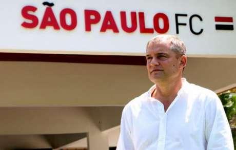 Diego Aguirre assinou contrato com o São Paulo até o fim desta temporada (Rubens Chiri / saopaulofc.net)