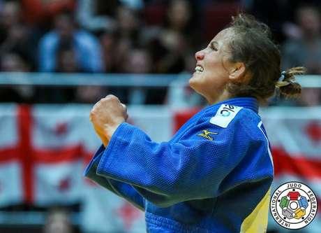 Maria Portela é uma das judocas que irá participar do próximo Grand Slam de Judô (CBJ)