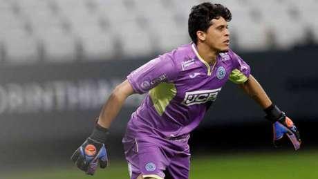 Rodrigo Viana não leva gol em 10 partidas, das 12 disputadas (Foto: Vilmar Bannach/Ofotografico)