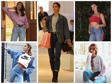 Famosas vestem mom jeans (Fotos: AgNews - Instagram/Reprodução)