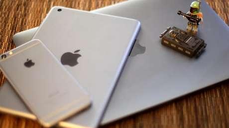 Macbook, iPhone e iPad