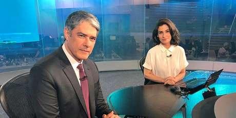 William Bonner e Renata Vasconcellos, do 'JN': a Globo quer se blindar contra seus 'haters'.