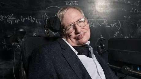 Hawking sofria desde jovem com a esclerose lateral amiotrófica. Foto: BBC/Richard Ansett