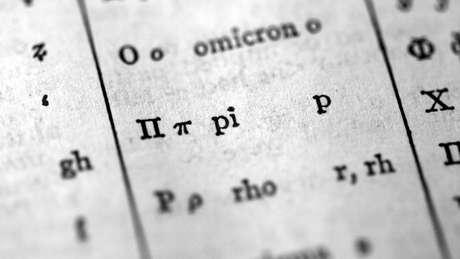 Pi é representado também pela letra grega π