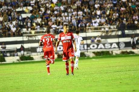 O atacante Ruan aposta na torcida para levar o CRB adiante na Copa do Brasil (Douglas Araújo/Divulgação/CRB)