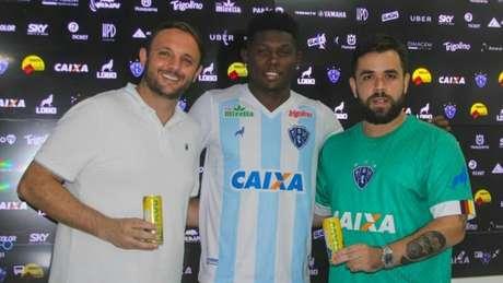 Willyam estende contrato com Paysandu (Foto: Divulgação/Paysandu)
