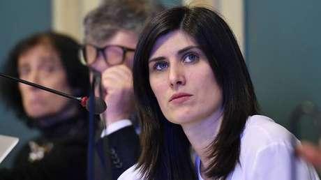 A prefeita de Turim, Chiara Appendino