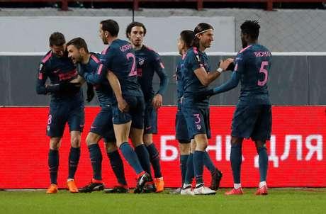 Atlético de Madrid goleia de novo e está classificado
