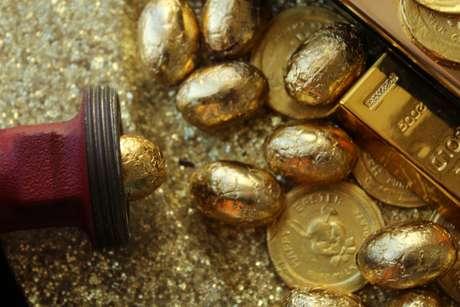Imagem ilustrativa de peças em ouro