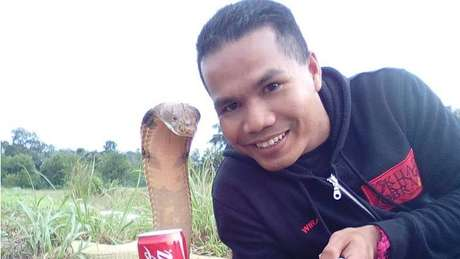 Hussin tinha 33 anos e vivia em Pahang, na Malásia | Foto: Abu Zarin Hussin