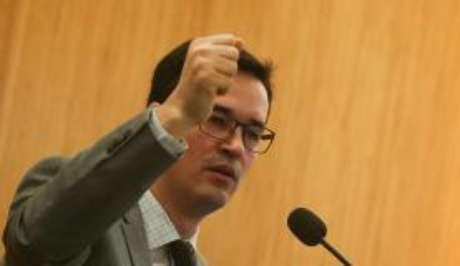 Procurador Deltan Dallagnol fez o balanço dos quatro anos da Lava Jato (Arquivo/Agência Brasil)
