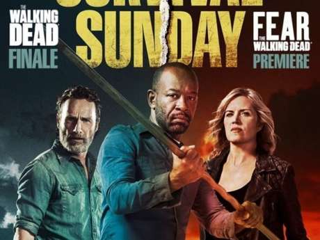 "Séries ""The Walking Dead"" e ""Fear The Walking Dead ganham novo cartaz do crossover"