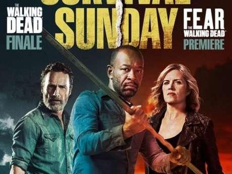 "Séries ""The Walking Dead"" e ""Fear The Walking Dead ganham novo cartaz do crossover"