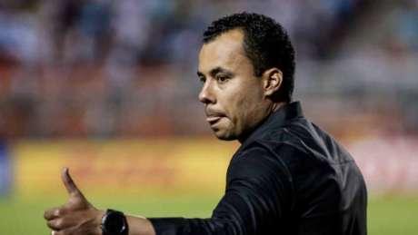 Jair Ventura deixou o Pacaembu satisfeito com o resultado conquistado (Foto: Rodrigo Gazzanel / RM Sports Images)