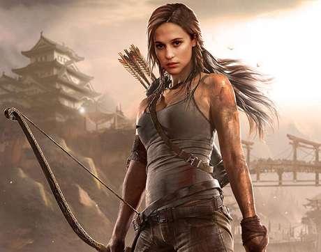 Alicia Vikander como a nova Lara Croft