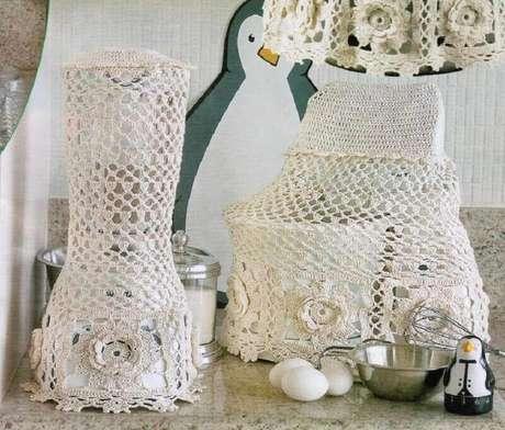 Jogo De Cozinha De Crochê Dicas E Modelos Para Decorar A