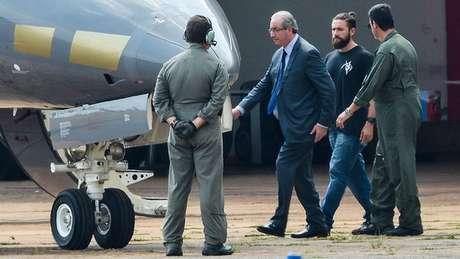 O Ministério Público da Suíça ajudou o Brasil a prender o ex-deputado Eduardo Cunha | Foto: ABR