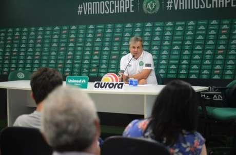 Gilson Kleina analisa confronto da Chapecoense com Tubarão (Foto: Sirli Freitas/ Chapecoense)