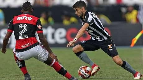 Pimpão até melhorou e afastou as criticas, mas tem apenas dois gols na temporada (Vítor Silva/SSPress/Botafogo)