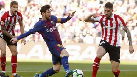 Espanha: golos de Messi e Alcácer, Barça arrasa Athletic Bilbao