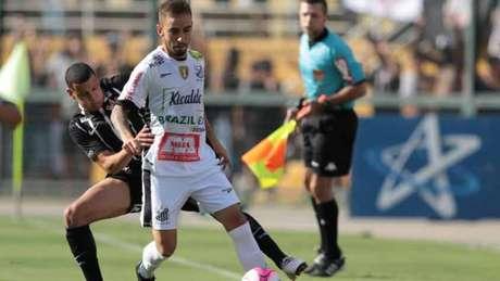 Bragantino abre vantagem na partida de ida das quartas de final do Paulistão-18 (Foto: Vilmar Bannach/Ofotografico)