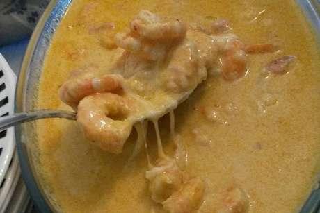 Chiclete de camarão
