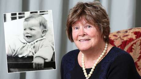 Anthea levou 80 anos para descobrir detalhes do seu passado | Foto: BBC e Arquivo pessoal