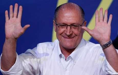 Geraldo Alckmin durante convenção nacional do PSDB em Brasília 09/12/2017 REUTERS/Adriano Machado