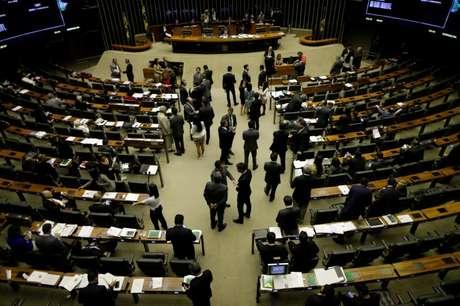 Visão geral da Câmara dos Deputados, em Brasília  20/09/2017 REUTERS/Ueslei Marcelino