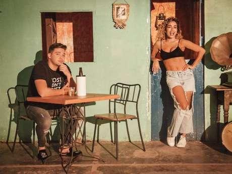Wesley Safadão divulga trecho de música nova com Anitta