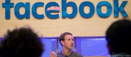O presidente e fundador do Facebook, Mark Zuckerberg