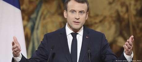 Macron quer impulsionar ensino do francês no mundo