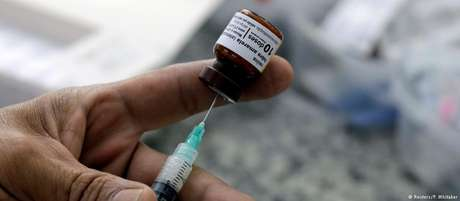Segundo Ministério da Saúde, 68,9 milhões de doses da vacina foram enviadas para todo o país desde 2017
