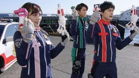 Patranger com os uniformes da GSPO