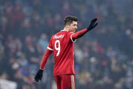 Robert Lewandowski perto de dar adeus ao Bayern de Munique (Foto: John Macdougall/AFP)