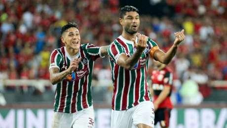 Fluminense 1 x 1 Flamengo: as imagens no clássico
