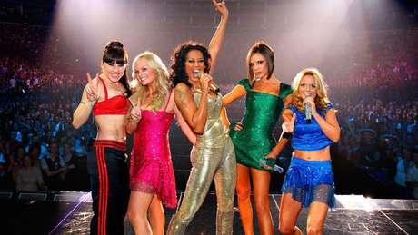 Animação super-heroínas Spice Girls
