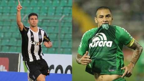 André Luiz e Welligton Paulista são um dos destaques da rodada (Foto: Luiz Henrique/FFC e Sirli Freitas/ Chapecoense)