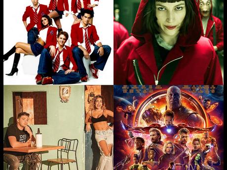 """Em abril teremos RBD no Spotify, """"Vingadores"""", """"La Casa de Papel"""", Anitta + Wesley Safadão e muito mais!"""